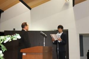 29年入学式新入生宣誓